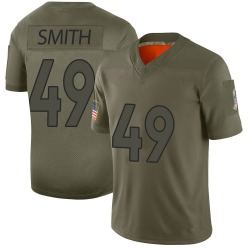 Nike Dennis Smith Denver Broncos Limited Camo 2019 Salute to Service Jersey - Youth