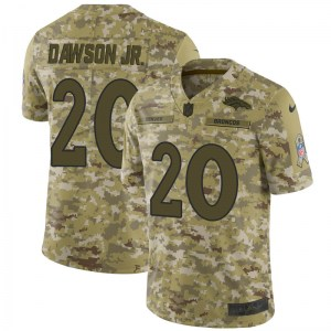 Nike Duke Dawson Jr. Denver Broncos Limited Camo 2018 Salute to Service Jersey - Youth