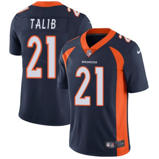 Nike Aqib Talib Denver Broncos Limited Navy Blue Alternate Jersey - Men's